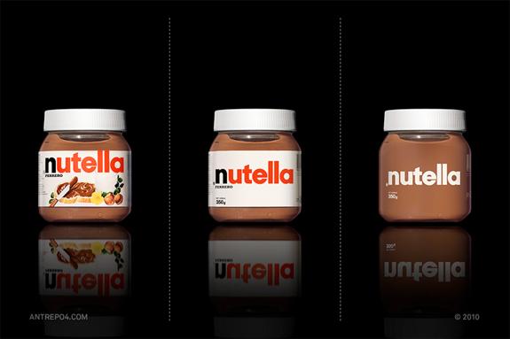 minimalistisches-verpackungsdesign-nutella