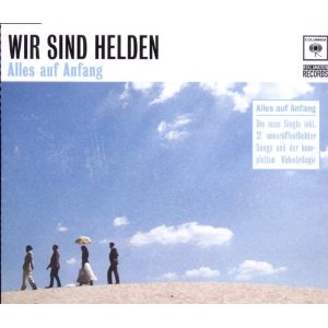 Wir sind Helden Alles auf Anfang Single-Cover