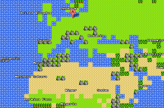 Google Maps in 8Bit - FRONTANDFRONTAND on