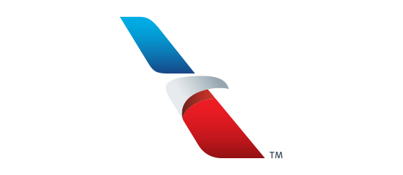 new, patriotic branding for American Airlines