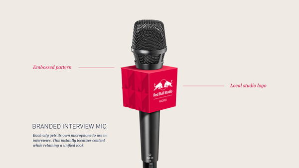 branded microphone